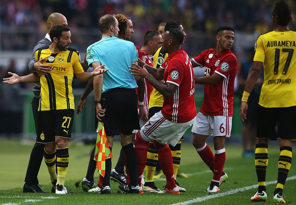 Bayern München X Borussia Dortmund Dfb Pokal 20152016 Final