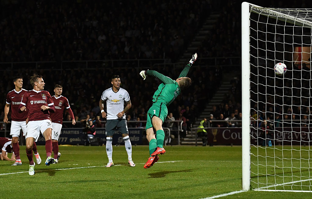 adam smith,jogador,northampton town,equipa,manchester united,efl cup 2016/17,league cup